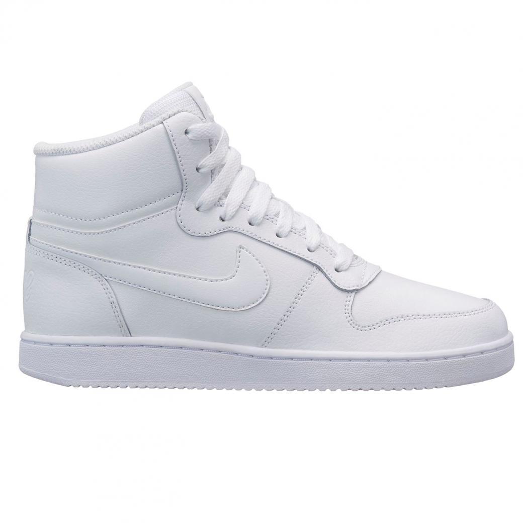 e5fa23929fd0e Femme Chaussures montantes | Nike Ebernon Mid Ladies Trainers Blanc